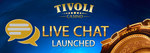 Live chat launched at tivoli casino