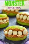 Monster apple bites