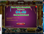 Grand fortune birthday bonus   10 spins at cash bandits   4.40 with a 154.00 playthrough