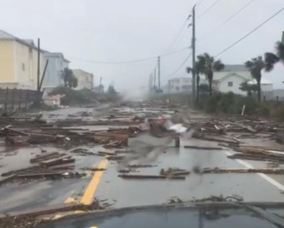 St. Augustine after Hurricane Matthew passed by.