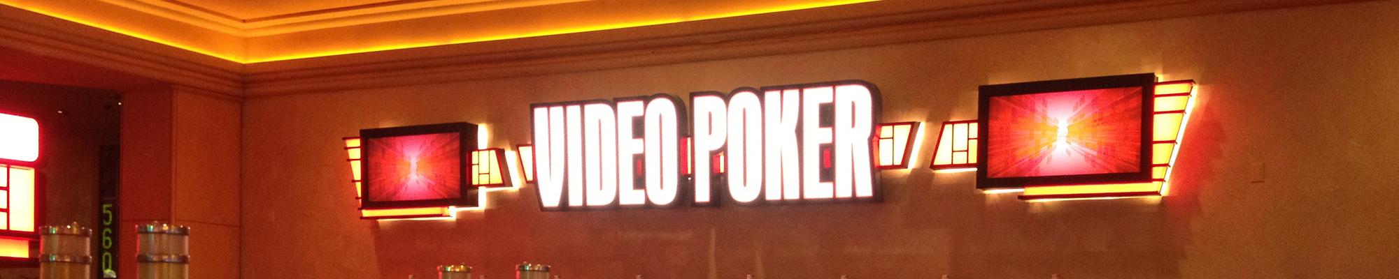 Video poker faq