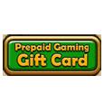 Prepaid gaming gift card