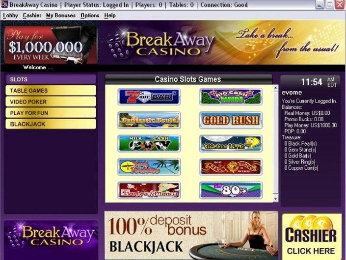 Break Away Casino