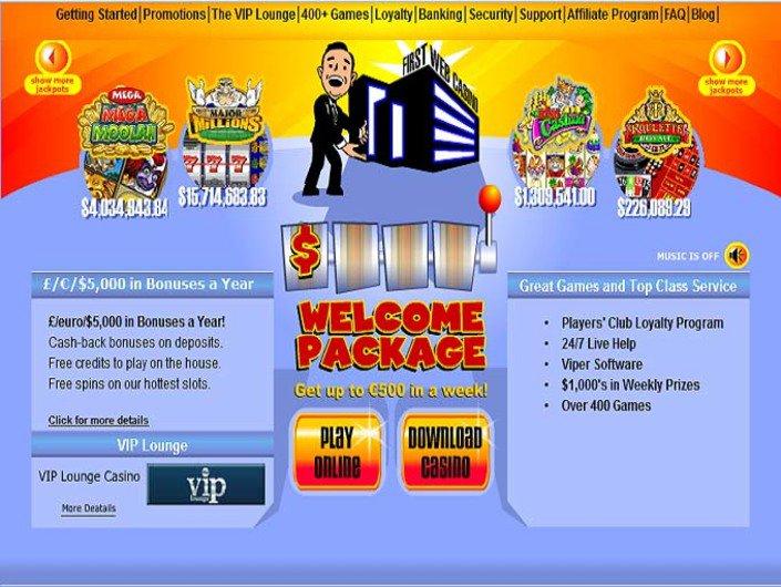 First Web Casino