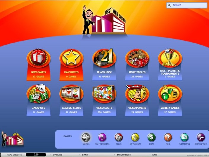 First Web Casino