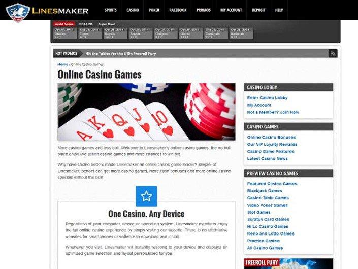 Linesmaker Casino
