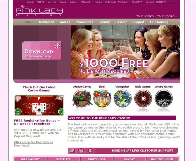 Pink Lady Casino