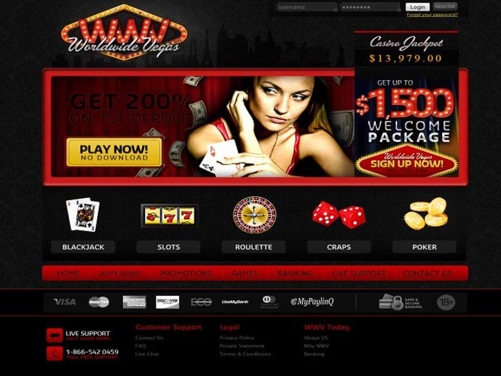World Wide Vegas Casino