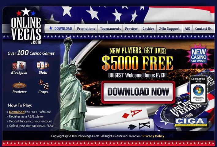 Online Vegas Casino