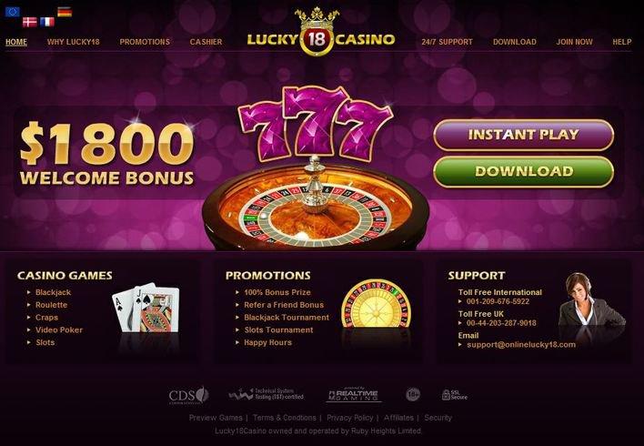 Lucky 18 Casino