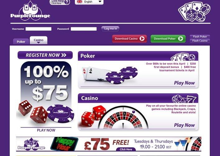 Purple Lounge Casino