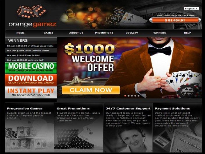 OrangeGamez Casino