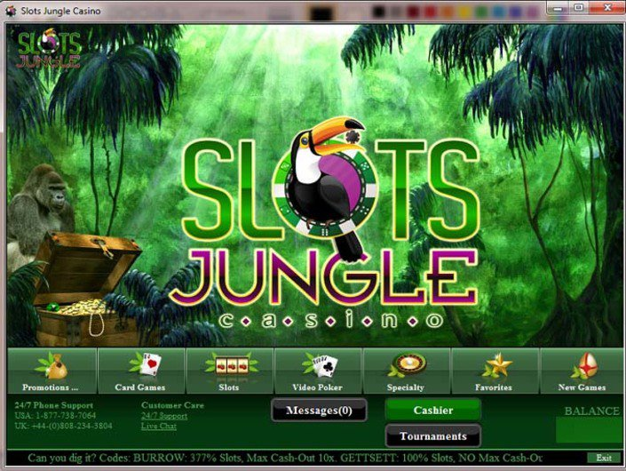 SlotsJungle Casino