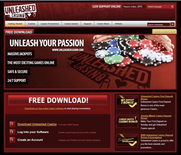 Unleashed Casino