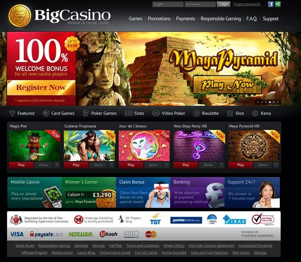 BigCasino Closed