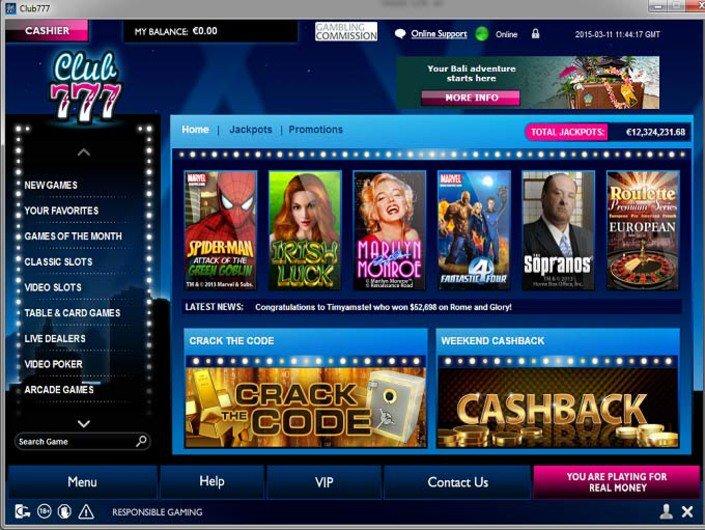Club777 Casino