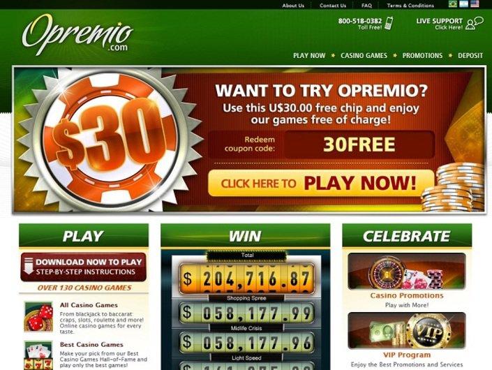 Opremio Casino