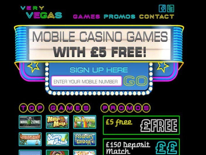 Very Vegas Mobile Casino
