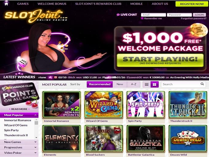 Slotjoint casino hp