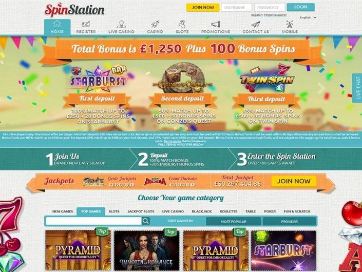 Spin Station Casino