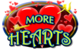 Morehearts logo float