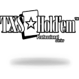 Texas holdem professional series logo white solid black stroke