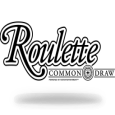 Common draw roulette logo black