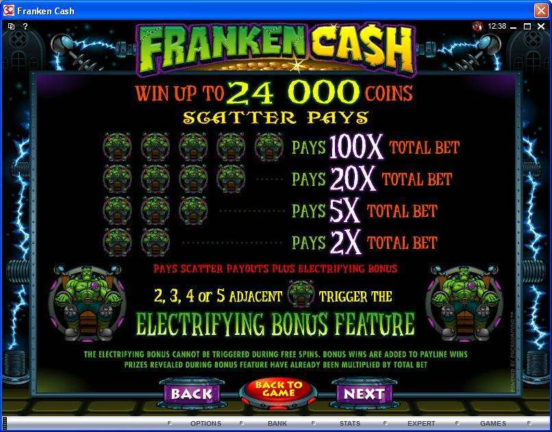 Game Review Franken Cash