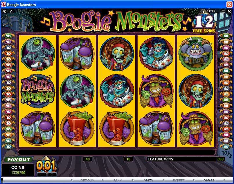 Game Review Boogie Monsters