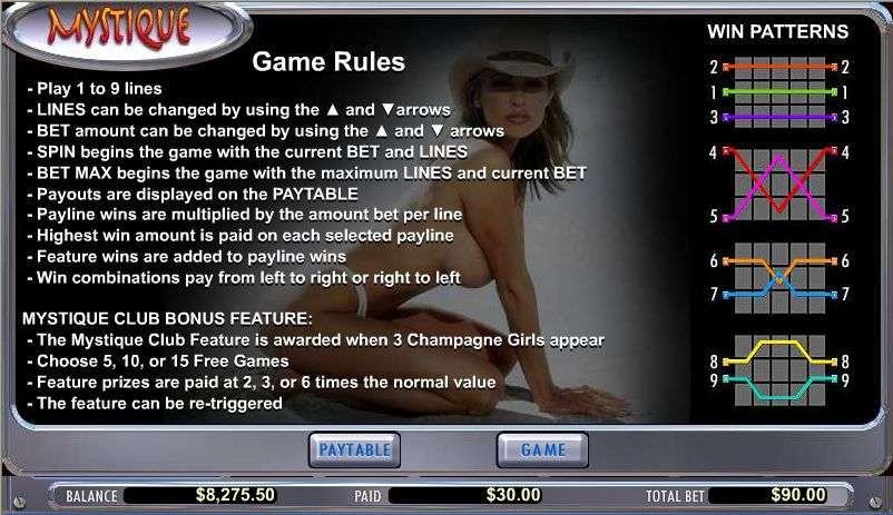 Game Review Mystique Club
