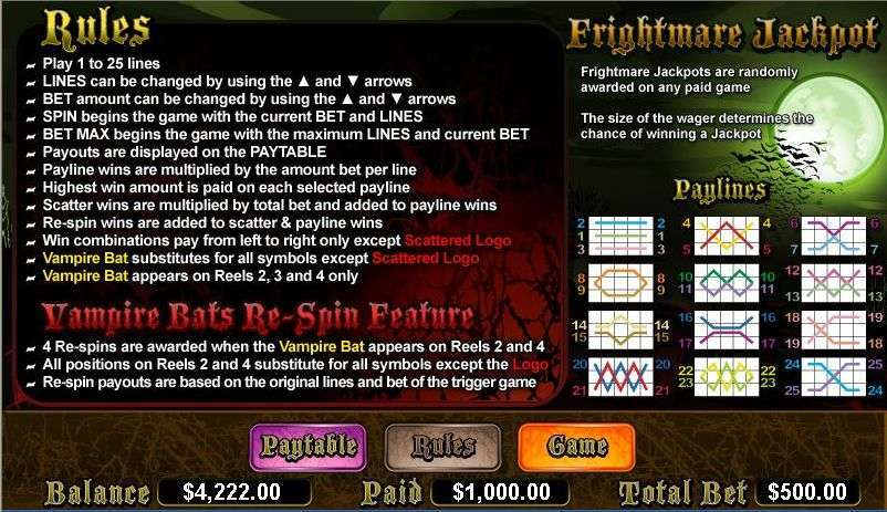 Game Review Vampire Bats