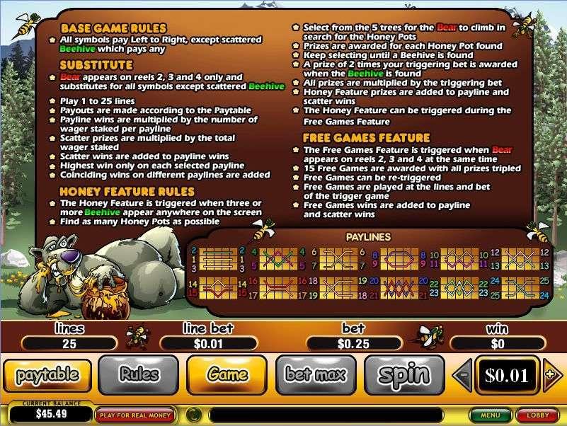 Game Review Bonus Bears
