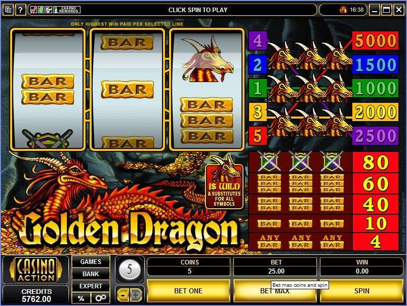 Game Review Golden Dragon