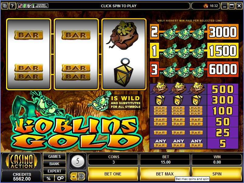 Game Review Goblins Gold