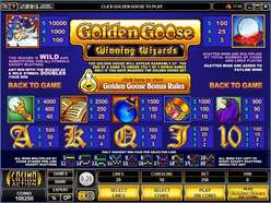 Game Review Golden Goose - Winning Wizards
