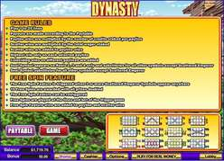 Game Review Dynasty