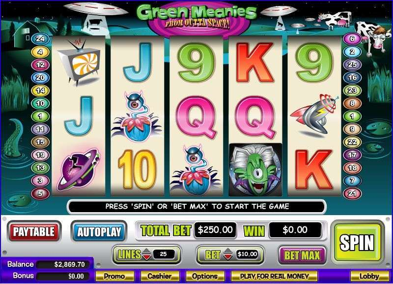 Game Review Green Meanies