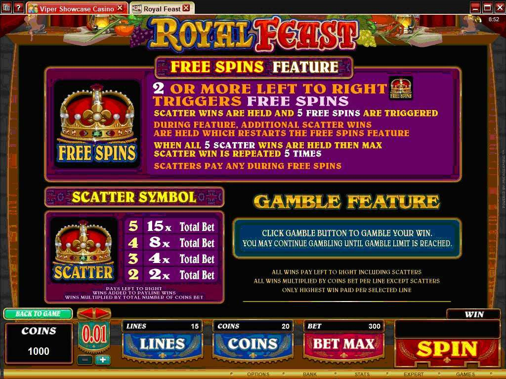 Game Review Royal Feast
