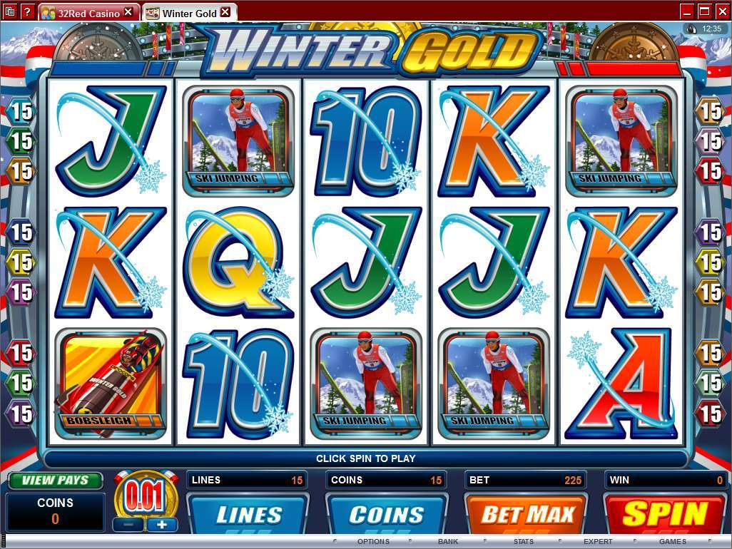 Game Review Winter Gold