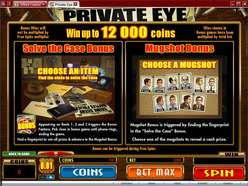 Game Review Private Eye