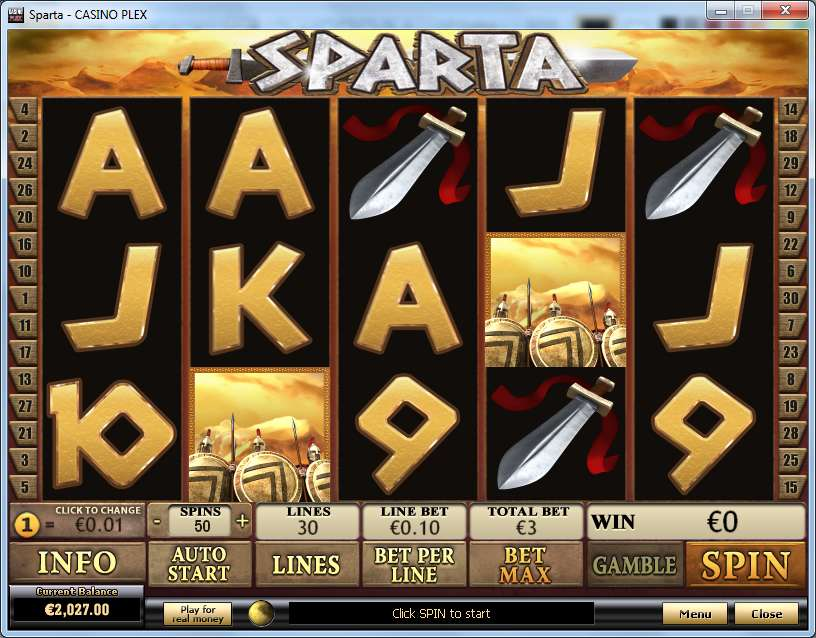 Game Review Sparta