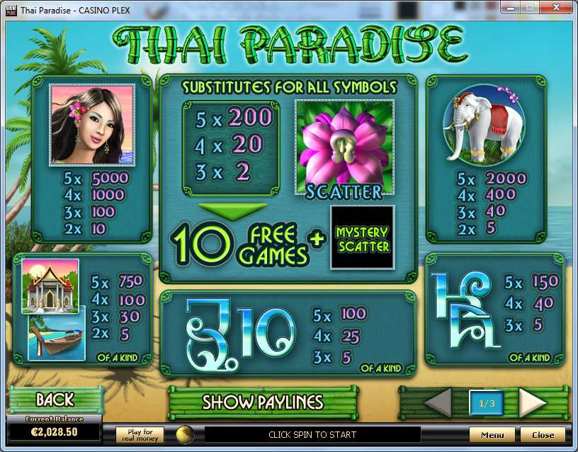 Game Review Thai Paradise