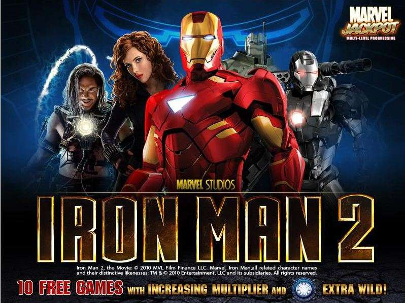 Game Review Iron Man 2