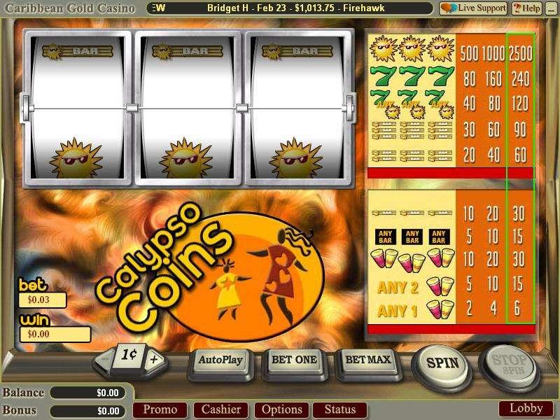 Game Review Calypso Coins