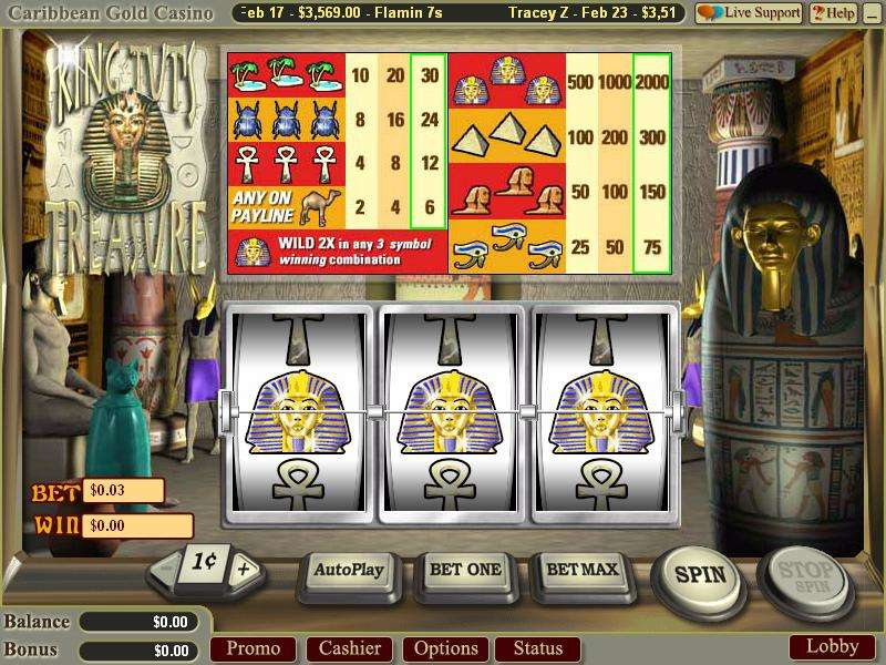 Game Review King Tut's Treasure