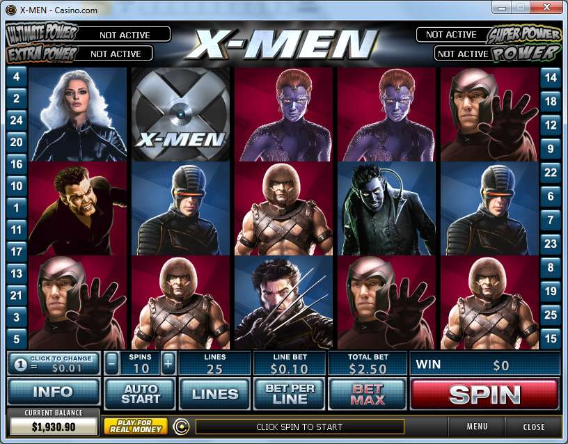 Game Review X - Men