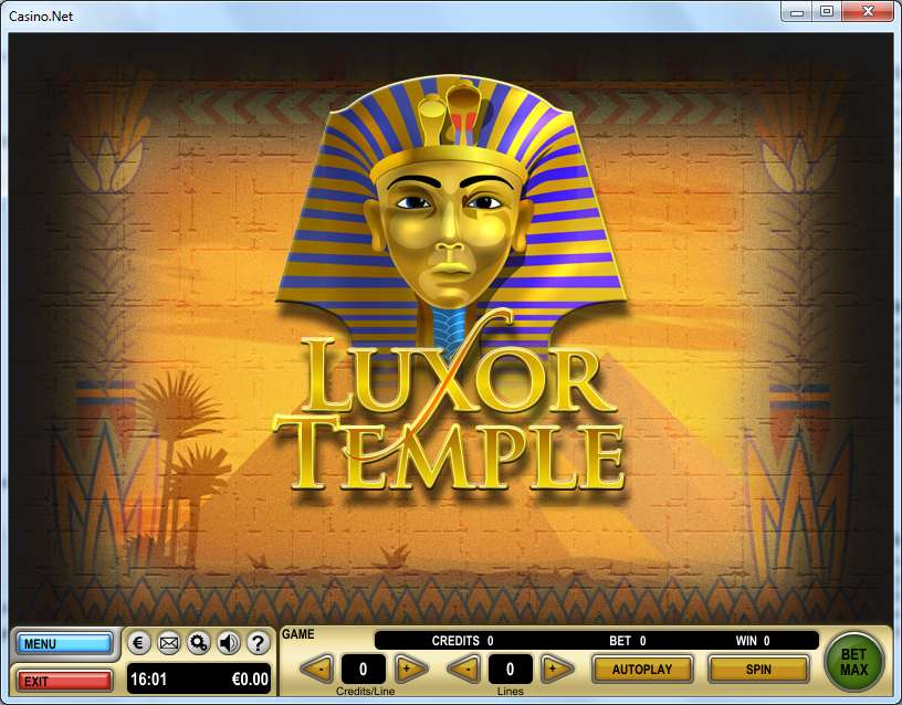 Game Review Luxor Temple