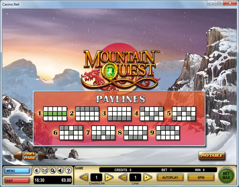 Game Review Mountain Quest