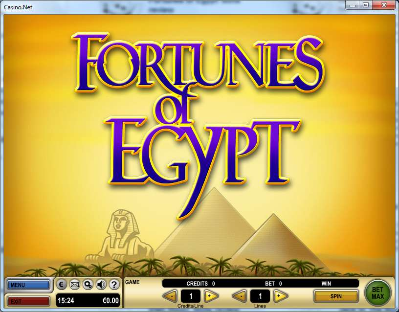 Fortunes of egypt1