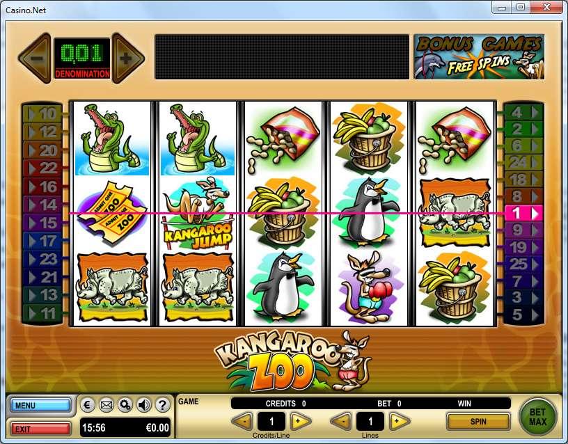 Game Review Kangaroo Zoo